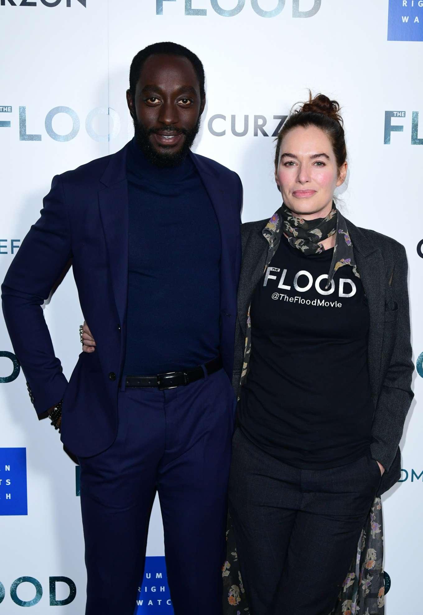 Lena Headey 2019 : Lena Headey: The Flood Screening in London-14