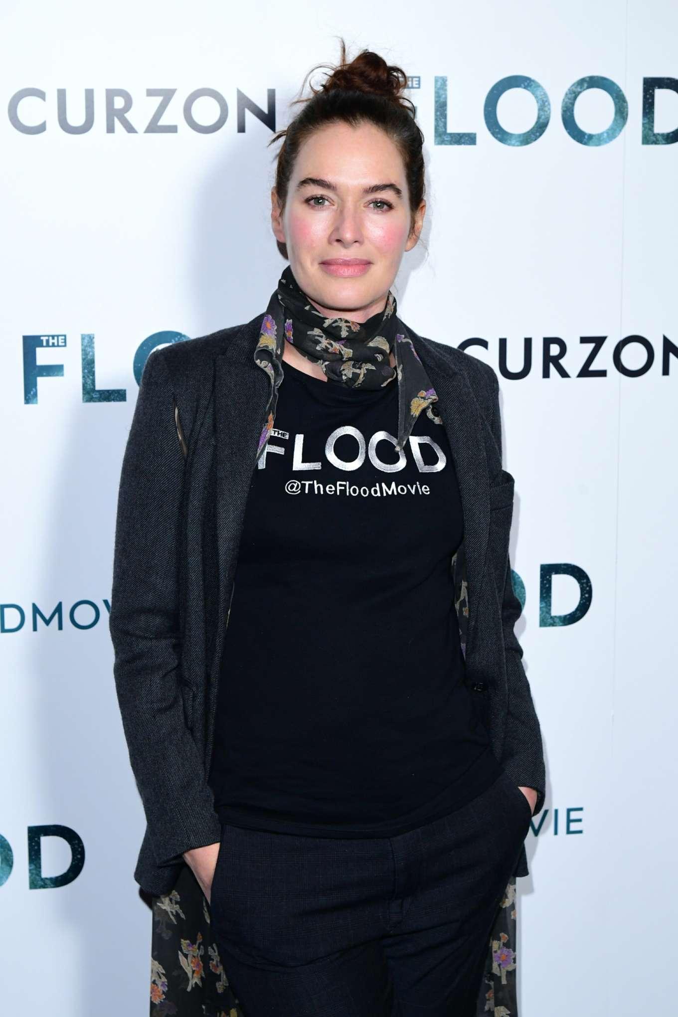 Lena Headey 2019 : Lena Headey: The Flood Screening in London-15
