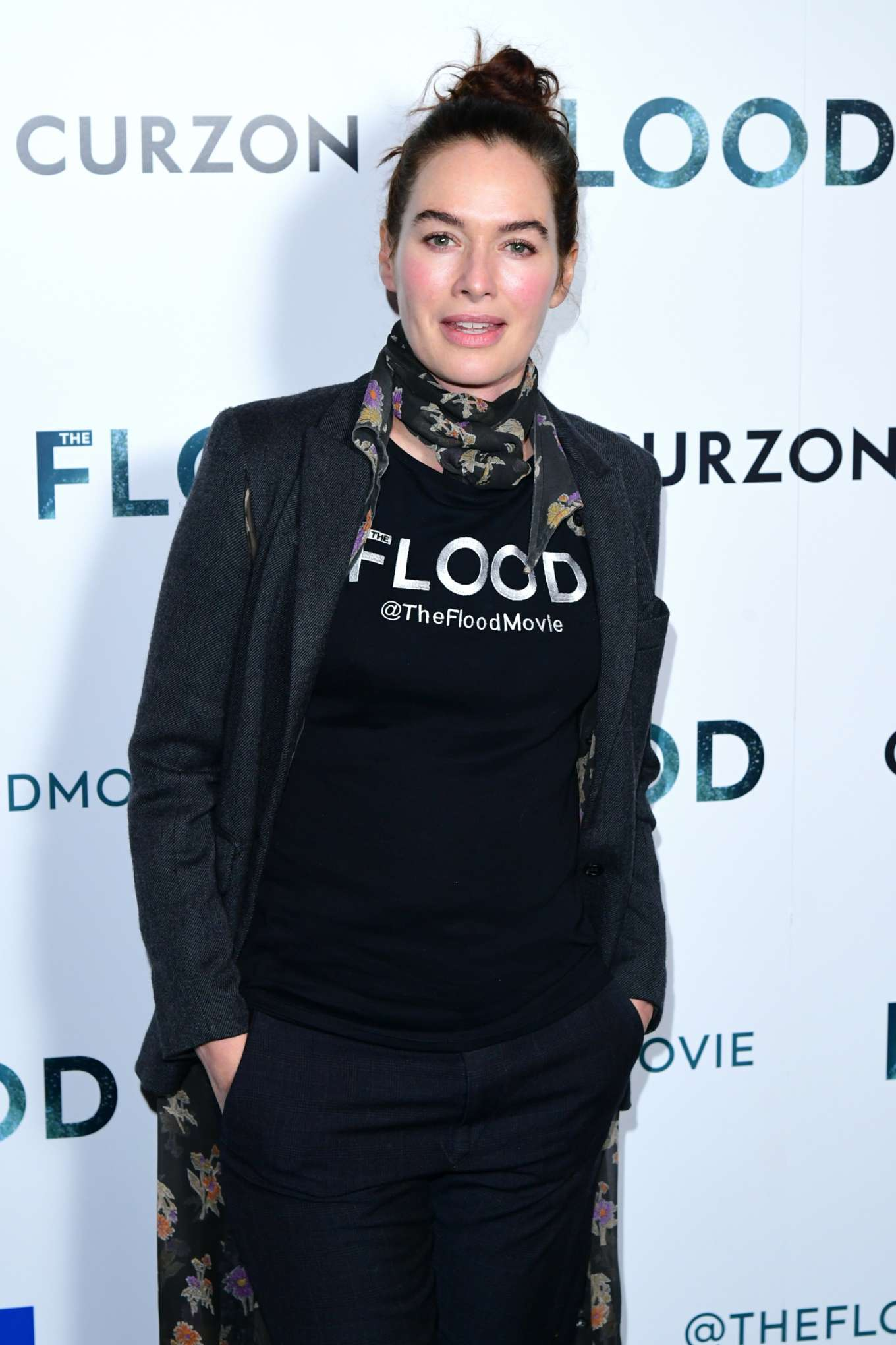 Lena Headey 2019 : Lena Headey: The Flood Screening in London-16