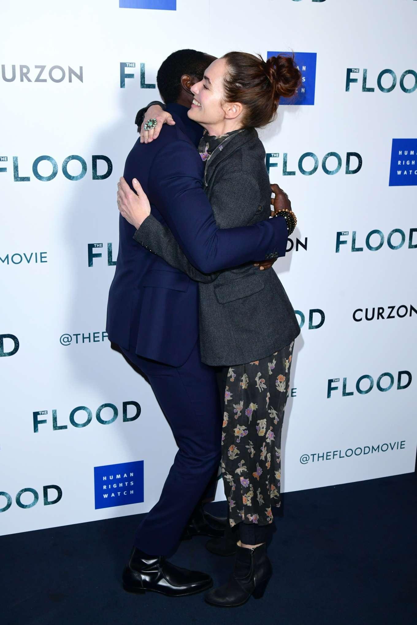 Lena Headey 2019 : Lena Headey: The Flood Screening in London-18