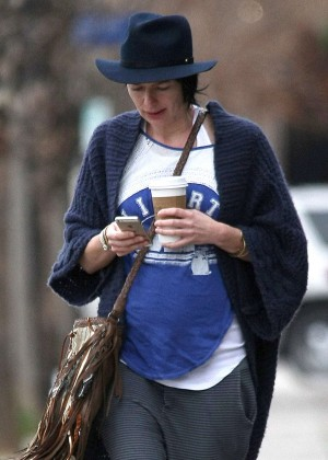 Lena Headeyout in Los Angeles -06