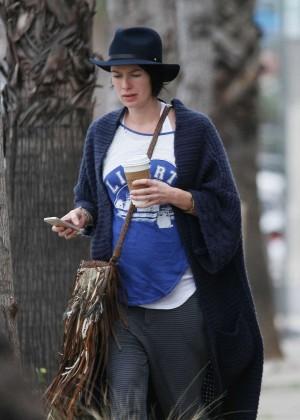 Lena Headeyout in Los Angeles