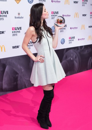 Lena Meyer Landrut At 1live Krone In Bochum
