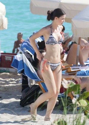 Lena Meyer Landrut in Bikini in Miami