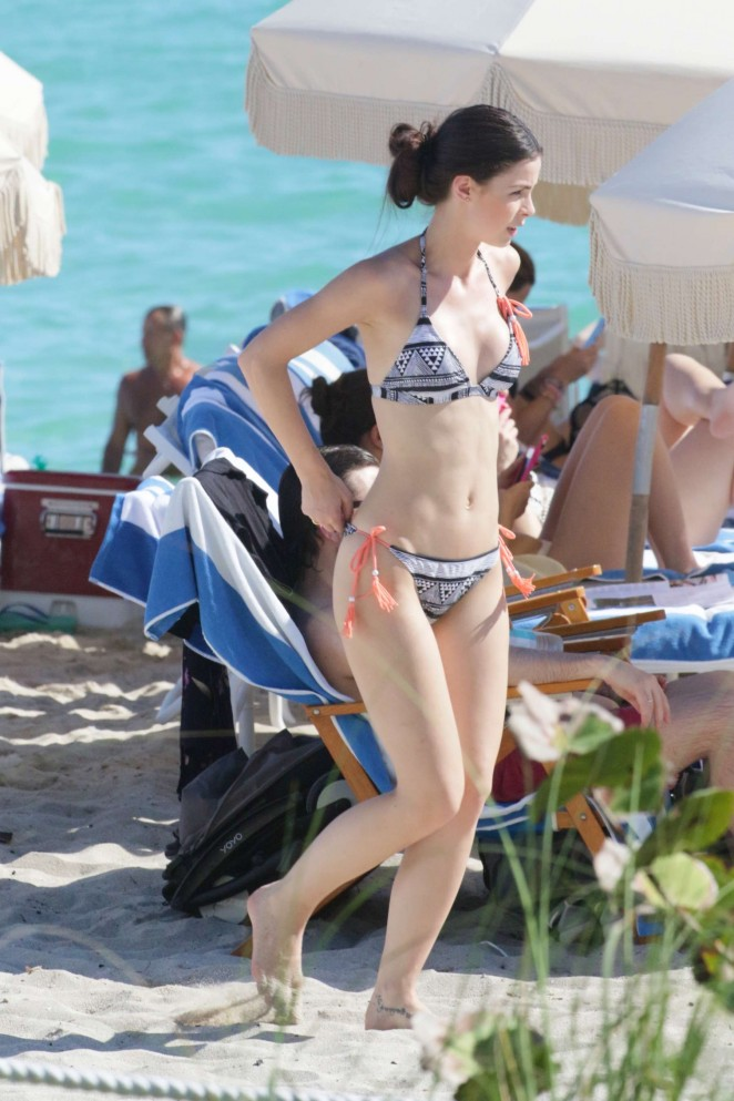 Lena Meyer Landrut in Bikini in Miami