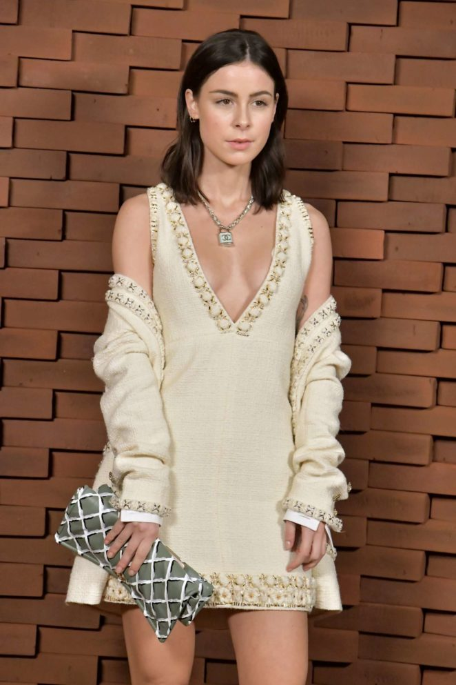 Lena Meyer -Landrut - Chanel Collection Metiers d'Art Paris-Hamburg 2017/18 in Hamburg
