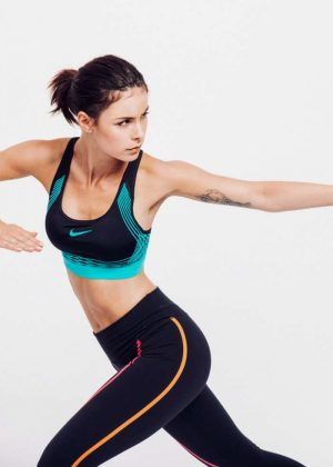 Lena Meyer-Landrut - David Daub Shoot for Nike Sports Bra (September 2016)