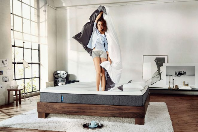 Lena Meyer-Landrut: Florian Grill Photoshoot for Emma mattresses -02