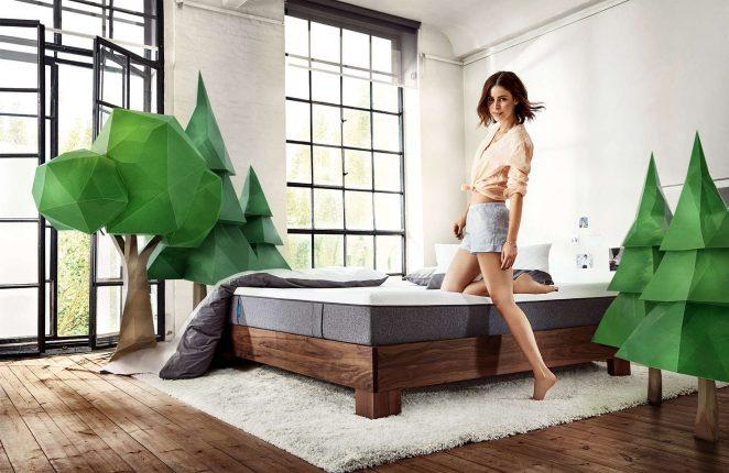 Lena Meyer-Landrut: Florian Grill Photoshoot for Emma mattresses -03
