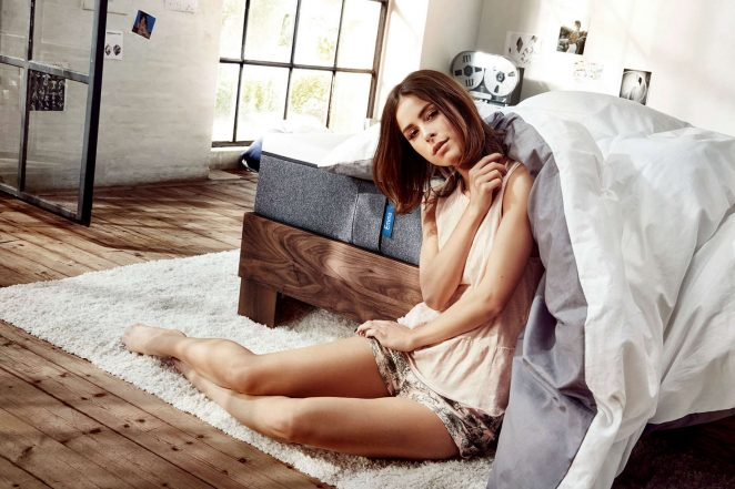 Lena Meyer-Landrut: Florian Grill Photoshoot for Emma mattresses -06