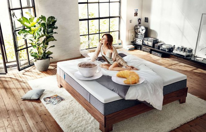 Lena Meyer-Landrut: Florian Grill Photoshoot for Emma mattresses -07