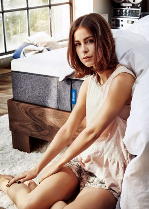 Lena Meyer-Landrut - Florian Grill Photoshoot for Emma mattresses