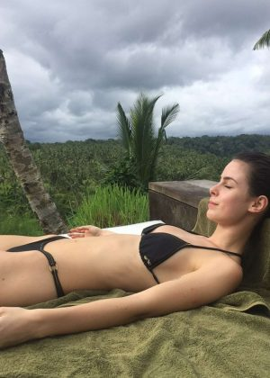 Lena Meyer-Landrut in Bikini in Bali