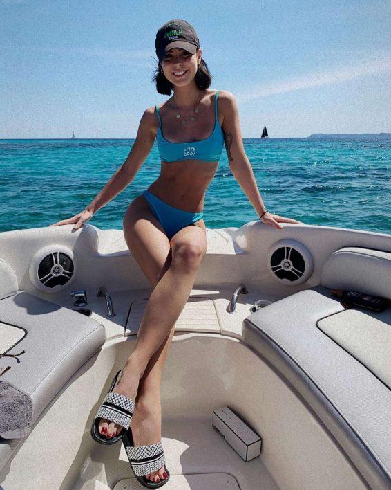 Lena Meyer-Landrut in Bikini - Personal