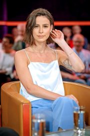 Lena Meyer-Landrut - MDR Talkshow 'Riverboat' in Leipzig
