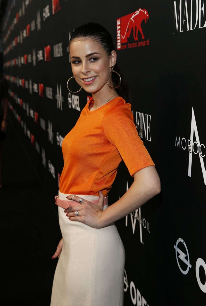 Lena Meyer Landrut - New Faces Award in Munich