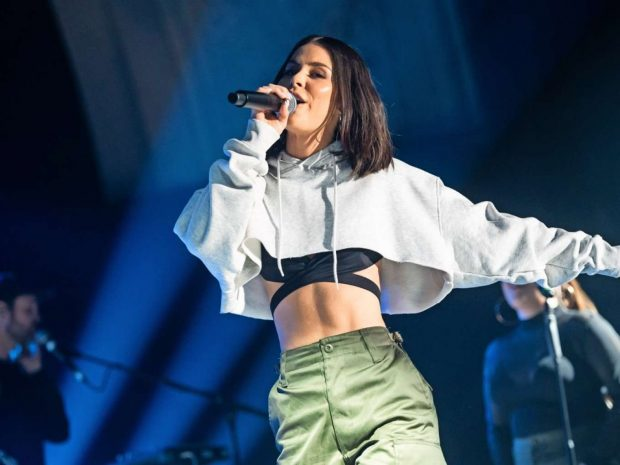 Lena Meyer-Landrut - Performs at Only Love Tour in Leipzig