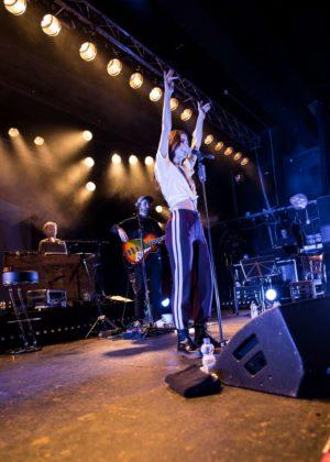 Lena Meyer-Landrut Performs in Hamburg