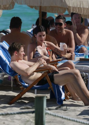 Lena Meyer-Landrut: Wearing Bikini on Vacation at a Beach in Miami (adds)-07