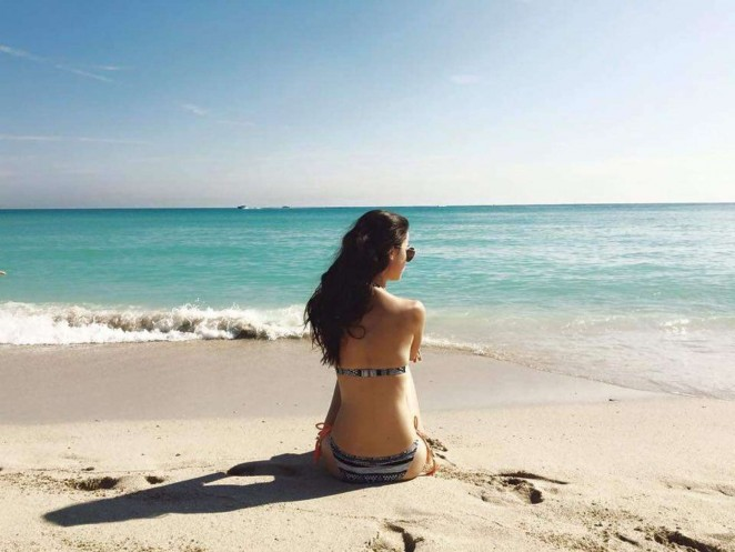 Lena Meyer-Landrut: Wearing Bikini on Vacation at a Beach in Miami (adds)-08