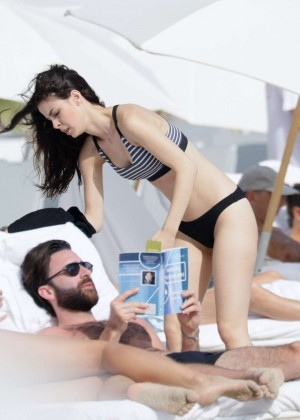 Lena Meyer-Landrut: Wearing Bikini on Vacation at a Beach in Miami (adds)-15