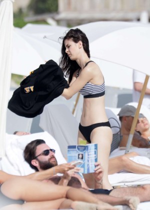 Lena Meyer-Landrut: Wearing Bikini on Vacation at a Beach in Miami (adds)-17