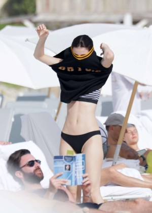 Lena Meyer-Landrut: Wearing Bikini on Vacation at a Beach in Miami (adds)-18