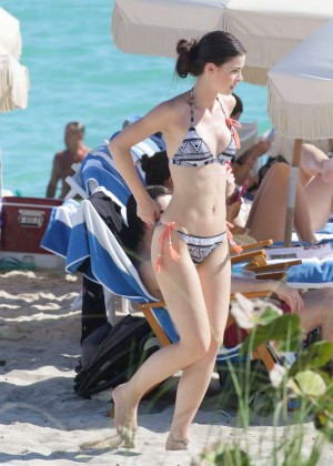 Lena Meyer-Landrut: Wearing Bikini on Vacation at a Beach in Miami (adds)-23