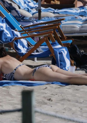 Lena Meyer-Landrut: Wearing Bikini on Vacation at a Beach in Miami (adds)-24
