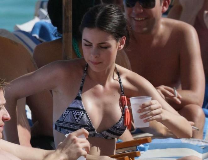 Lena Meyer-Landrut: Wearing Bikini on Vacation at a Beach in Miami (adds)-29
