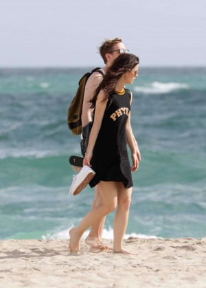 Lena Meyer-Landrut: Wearing Bikini on Vacation at a Beach in Miami (adds)-32