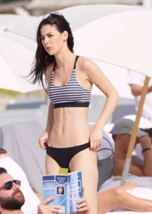 Lena Meyer-Landrut: Wearing Bikini on Vacation at a Beach in Miami (adds)-37