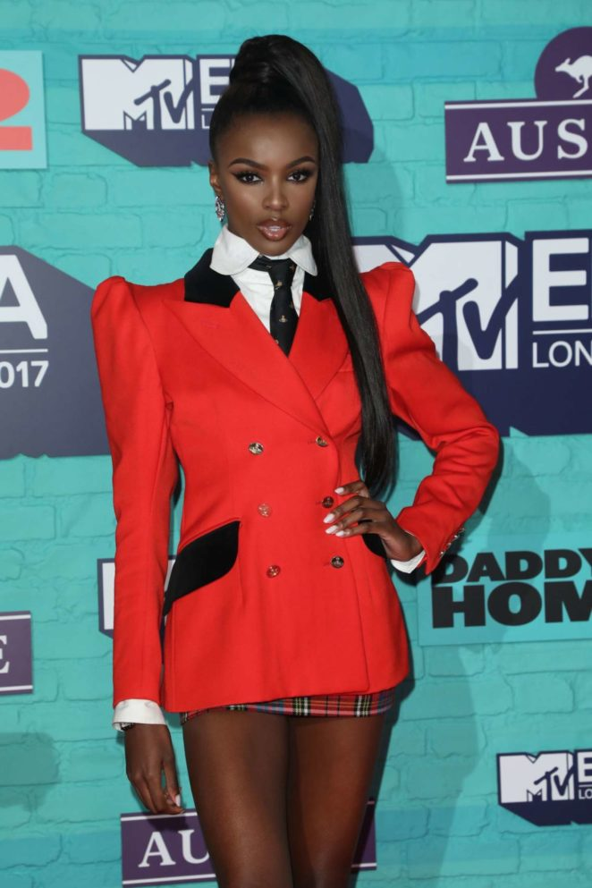 Leomie Anderson - 2017 MTV Europe Music Awards in London