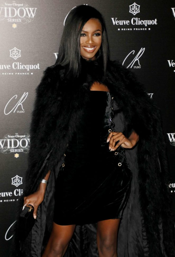 Leomie Anderson - The Veuve Clicquot Widow Series VIP launch party in London