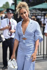 Leona Lewis and Dennis Jauch - Wimbledon Tennis Championships 2019 in London