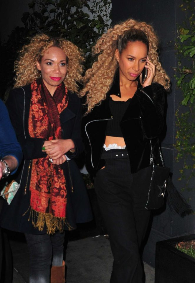 Leona Lewis at Dream Hotel in Los Angeles