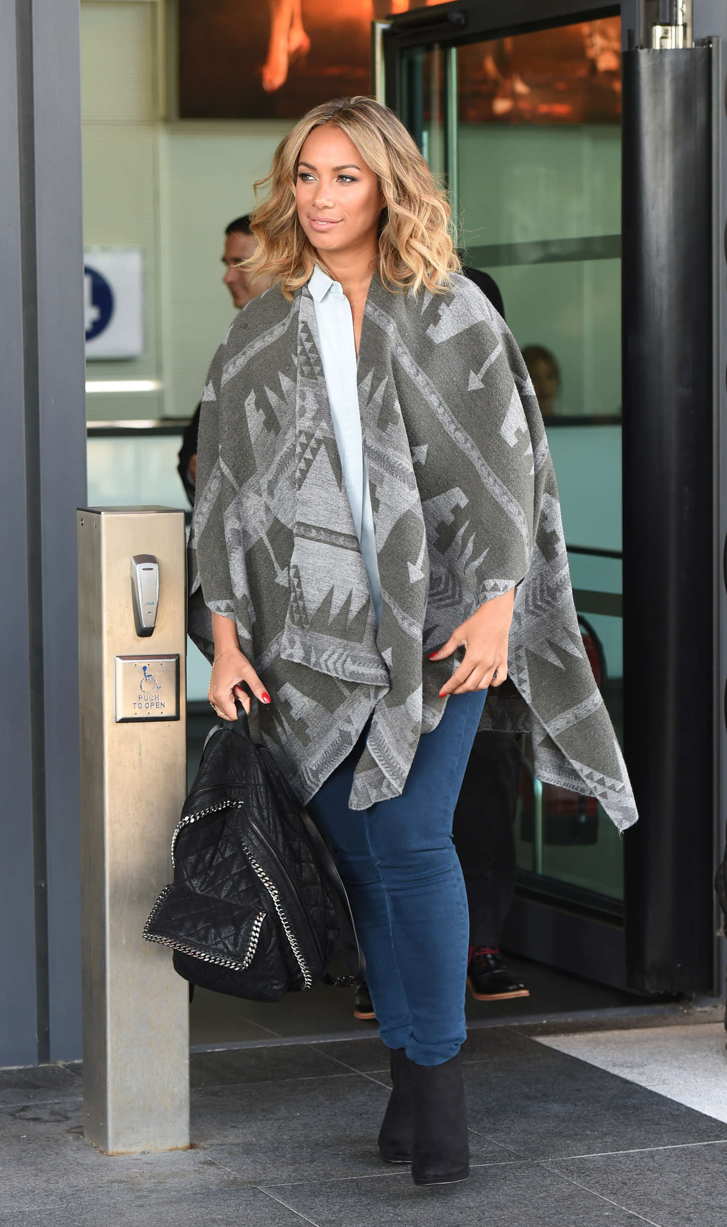 Leona Lewis 2015 : Leona Lewis: BBC Breakfast in Manchester -02