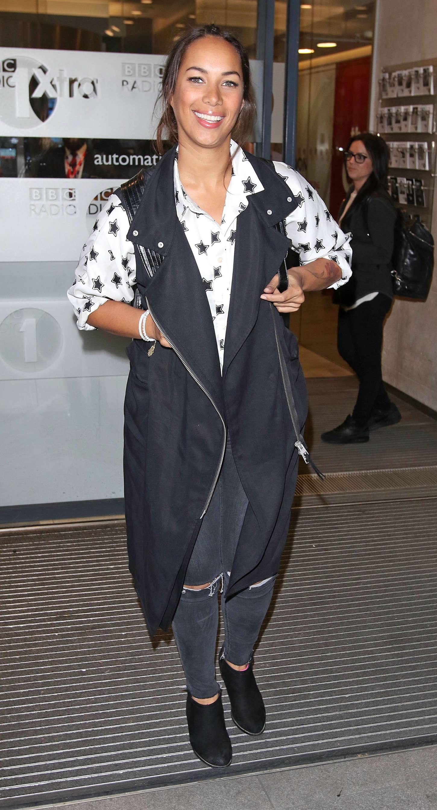 Leona Lewis - BBC Studios in London