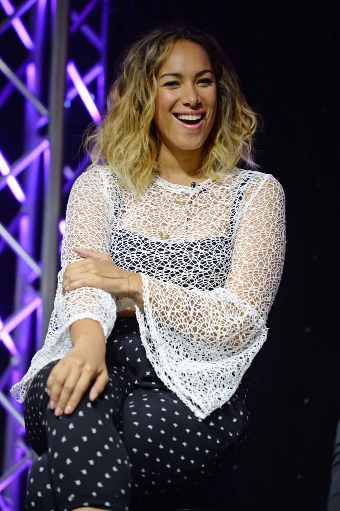 Leona Lewis: HITS 97 3 Radio Station -02