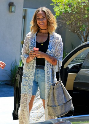 Leona Lewis - Jennifer Klein's Day of Indulgence Summer Party in Brentwood