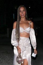 Leona Lewis - Leaves the Bare Minerals party in West Hollywood