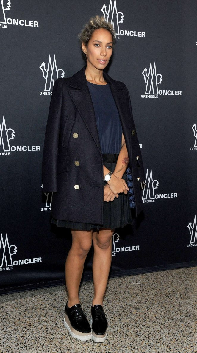 Leona Lewis: Moncler Grenoble Show at 2017 NYFW -09