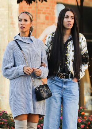 Leona Lewis - Out and about in Beverly Hills