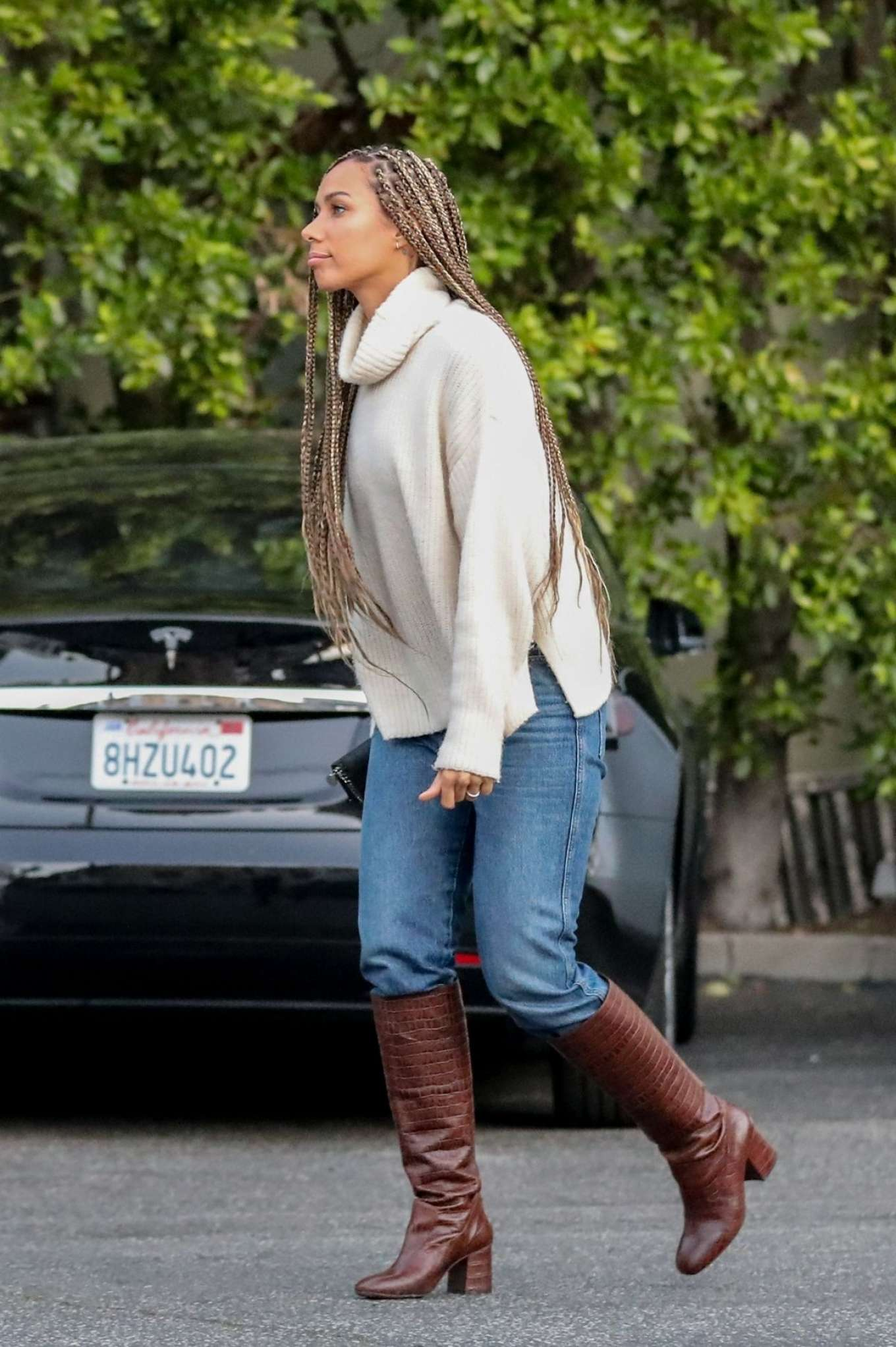 Leona Lewis 2020 : Leona Lewis – out and aboutin West Hollywood-01