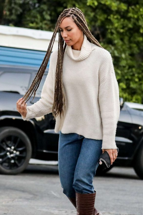 Leona Lewis 2020 : Leona Lewis – out and aboutin West Hollywood-02