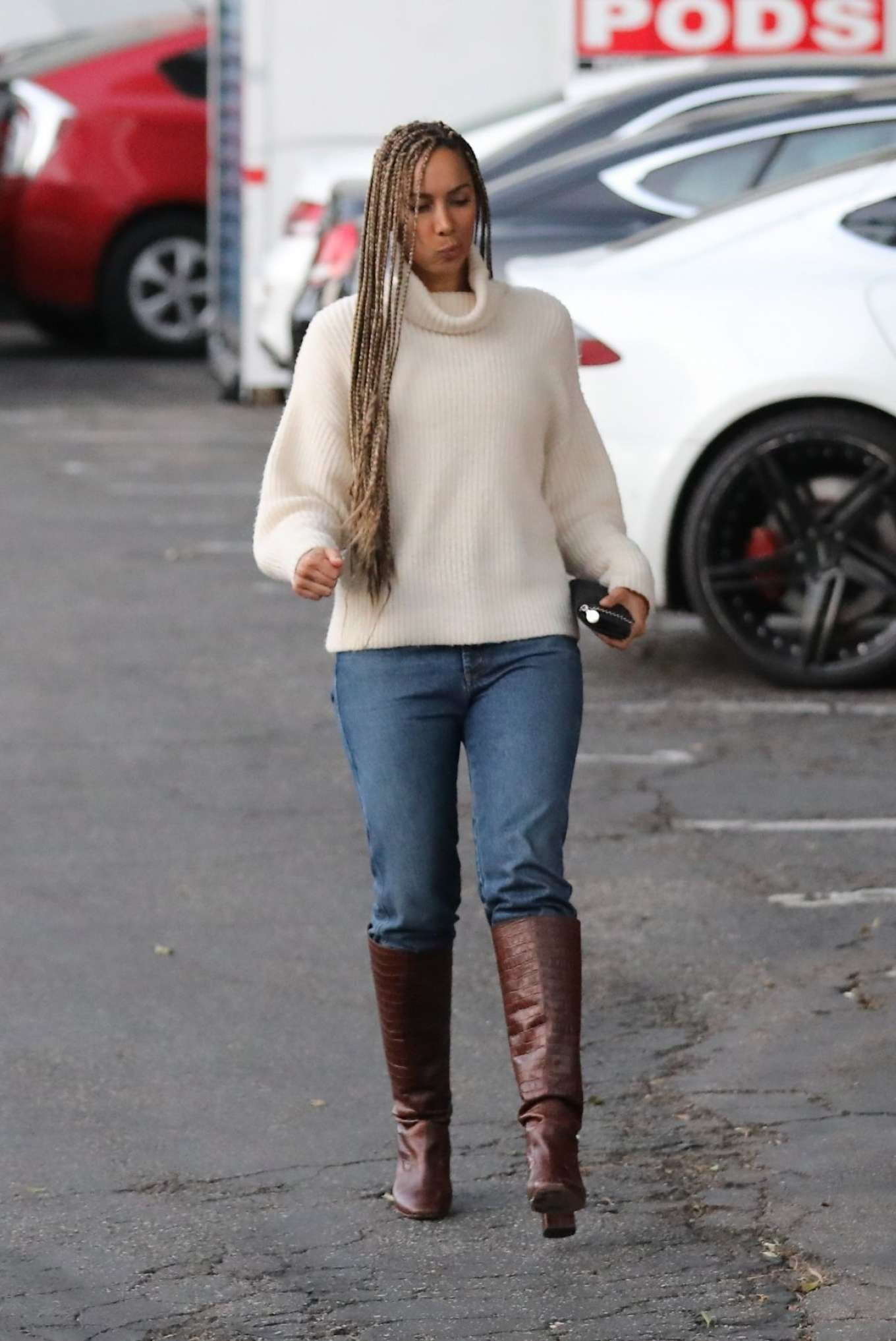 Leona Lewis 2020 : Leona Lewis – out and aboutin West Hollywood-12