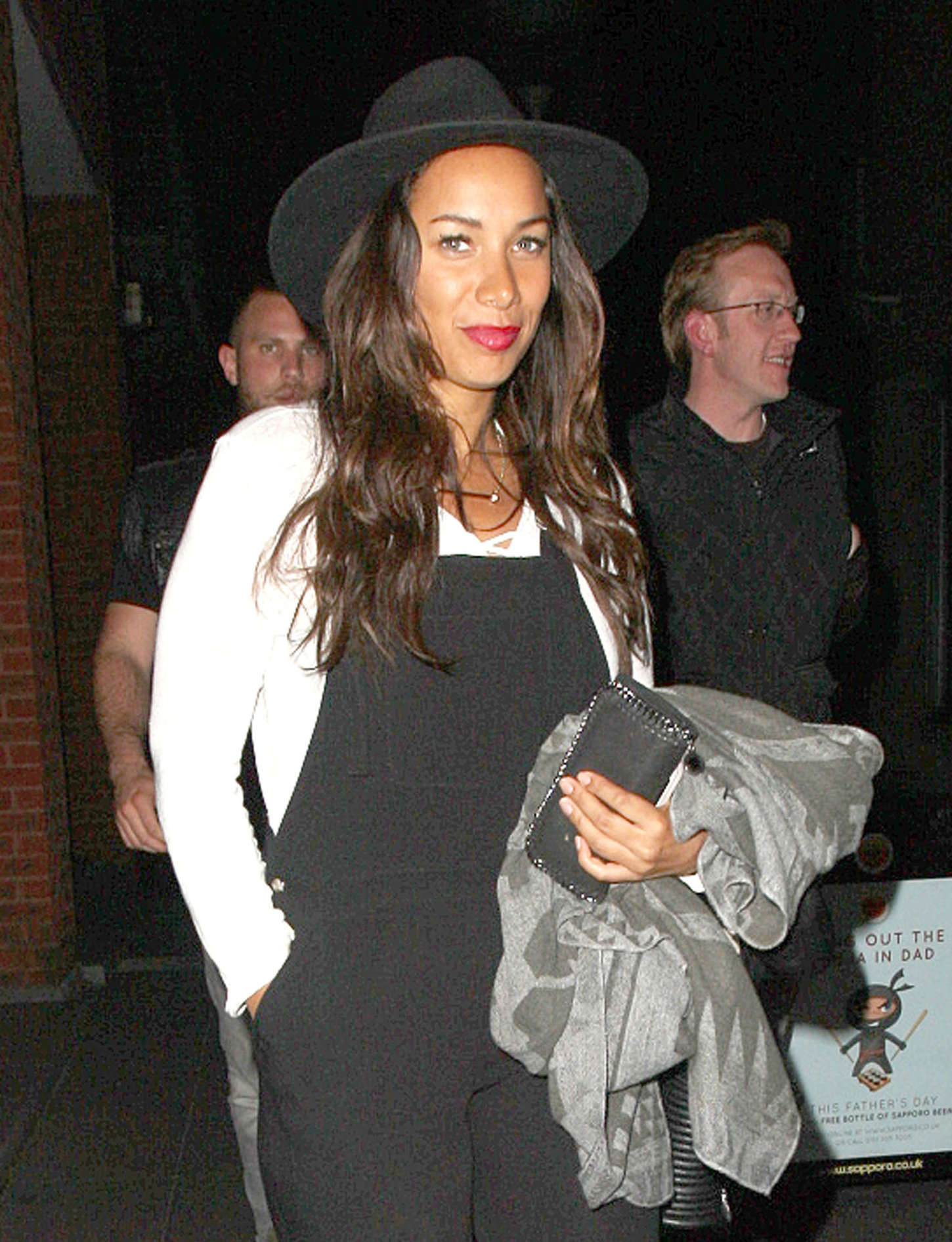 Leona Lewis - Out for dinner in Liverpool