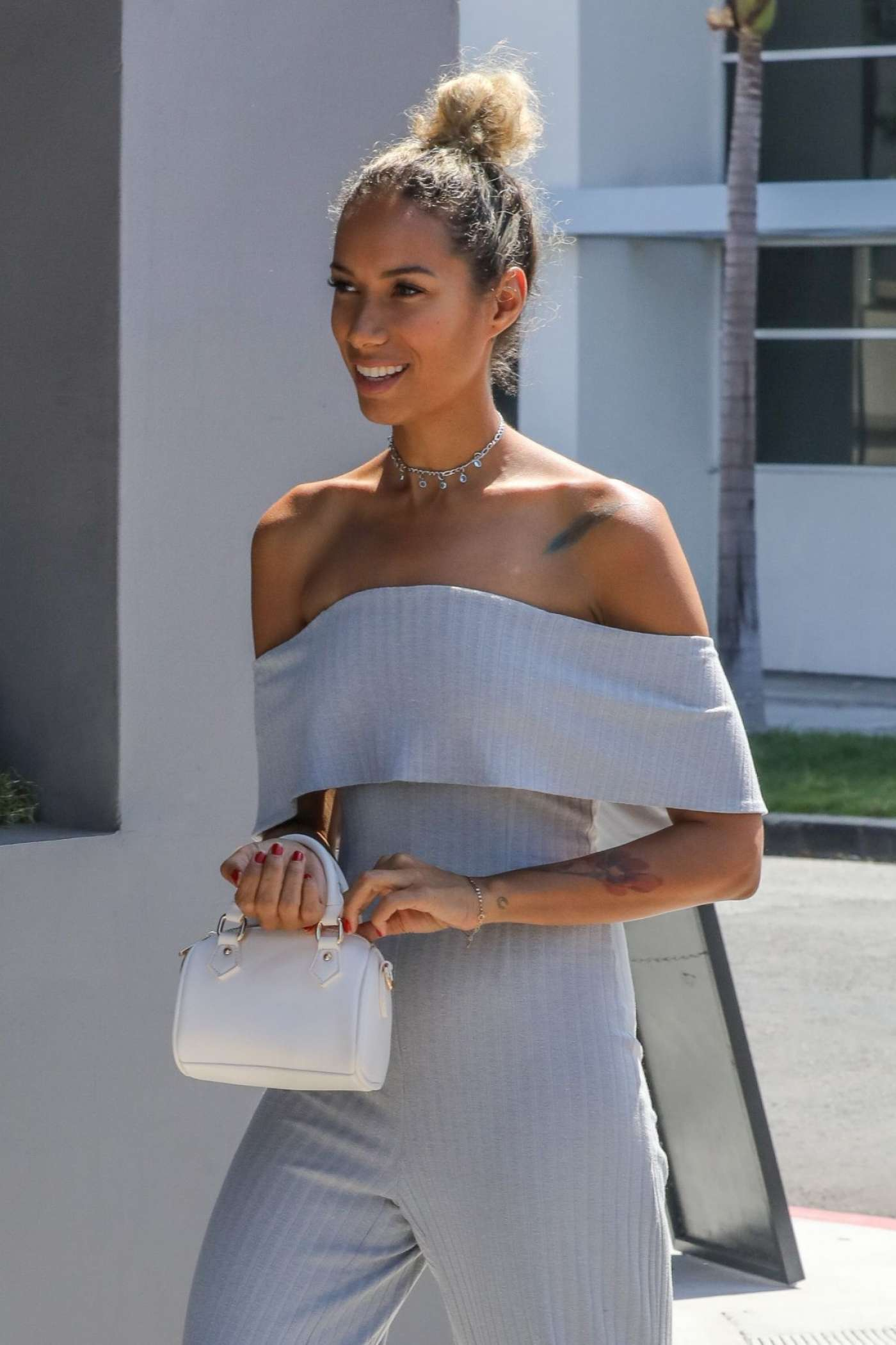 Leona Lewis 2017 : Leona Lewis Out in West Hollywood -02