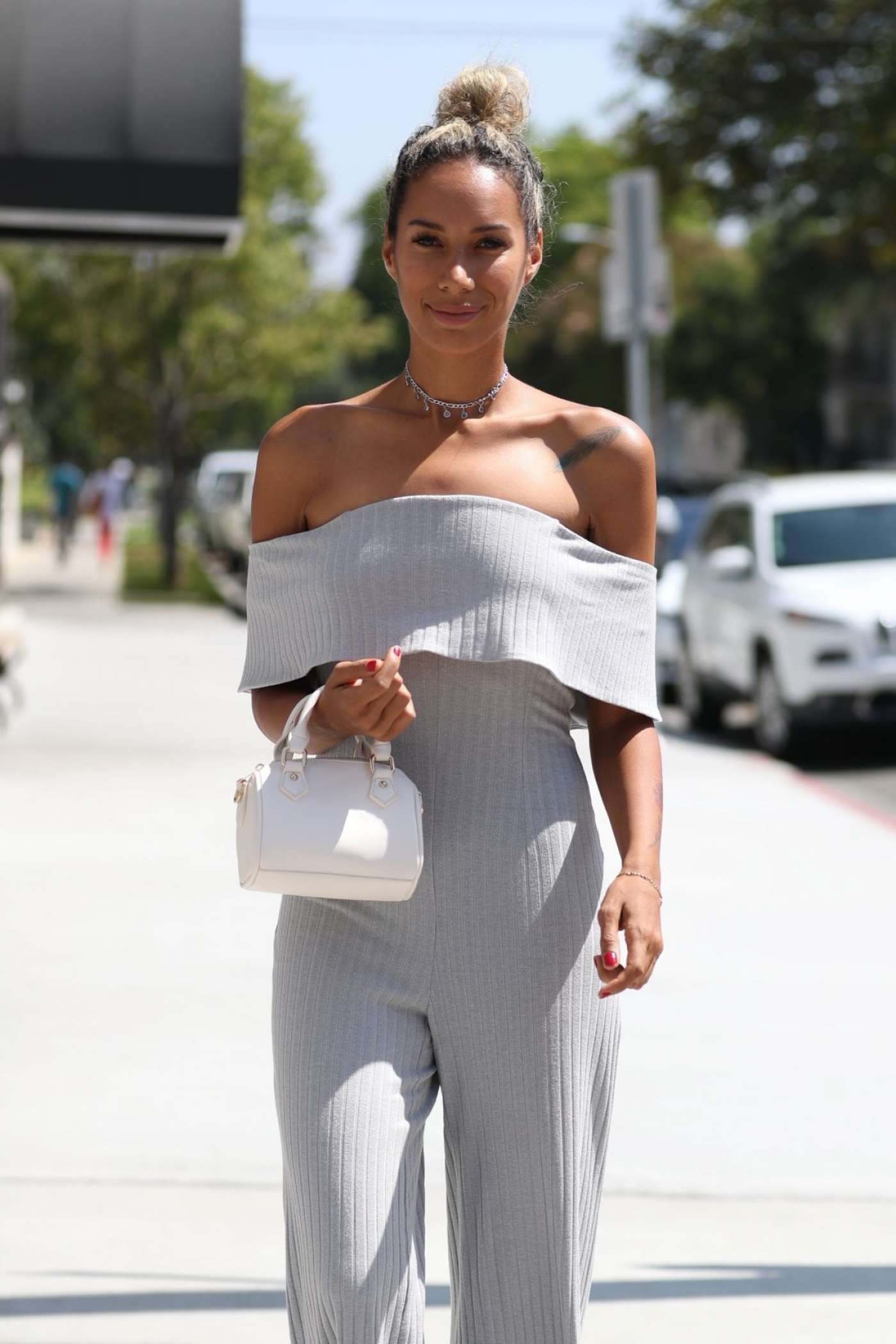 Leona Lewis 2017 : Leona Lewis Out in West Hollywood -07