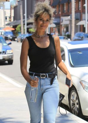 Leona Lewis out shopping in Beverly Hills